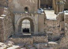 Detalle Anfiteatro romano, Cartagena