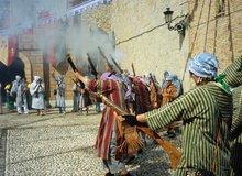 Fiesta de moros y cristianos en Altea
