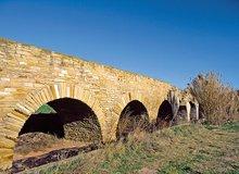 Acueducto romano en Lodosa, también llamado el puente de los Moros