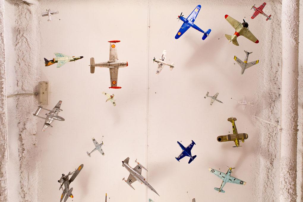 Maquetas de aviones. Aeroteca