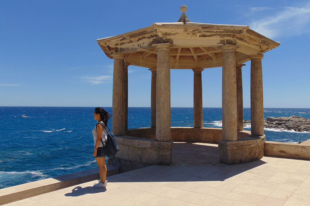 Camino de Ronda (Costa Brava): mirador de S'Agaró (2). Foto: Anna Otero