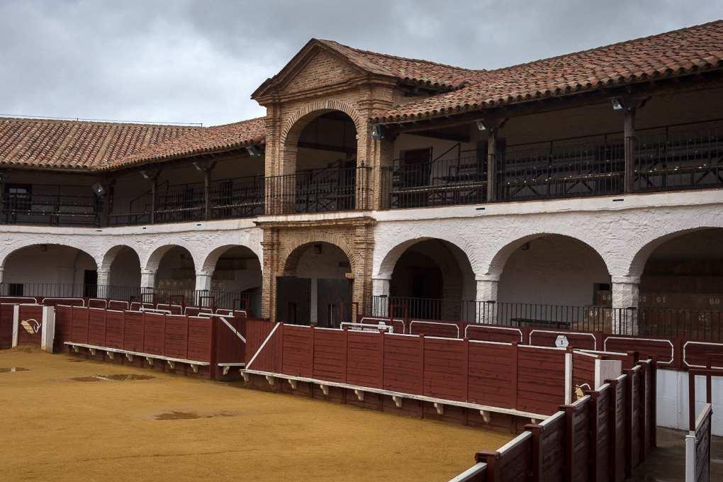La plaza de toros de Almadén