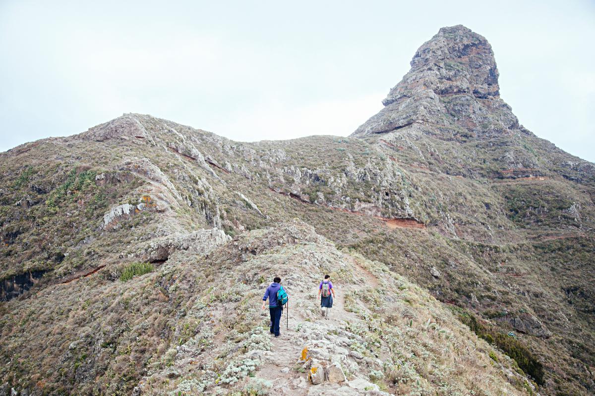 La costa desde Monte Taborno. Foto: Shutterstock