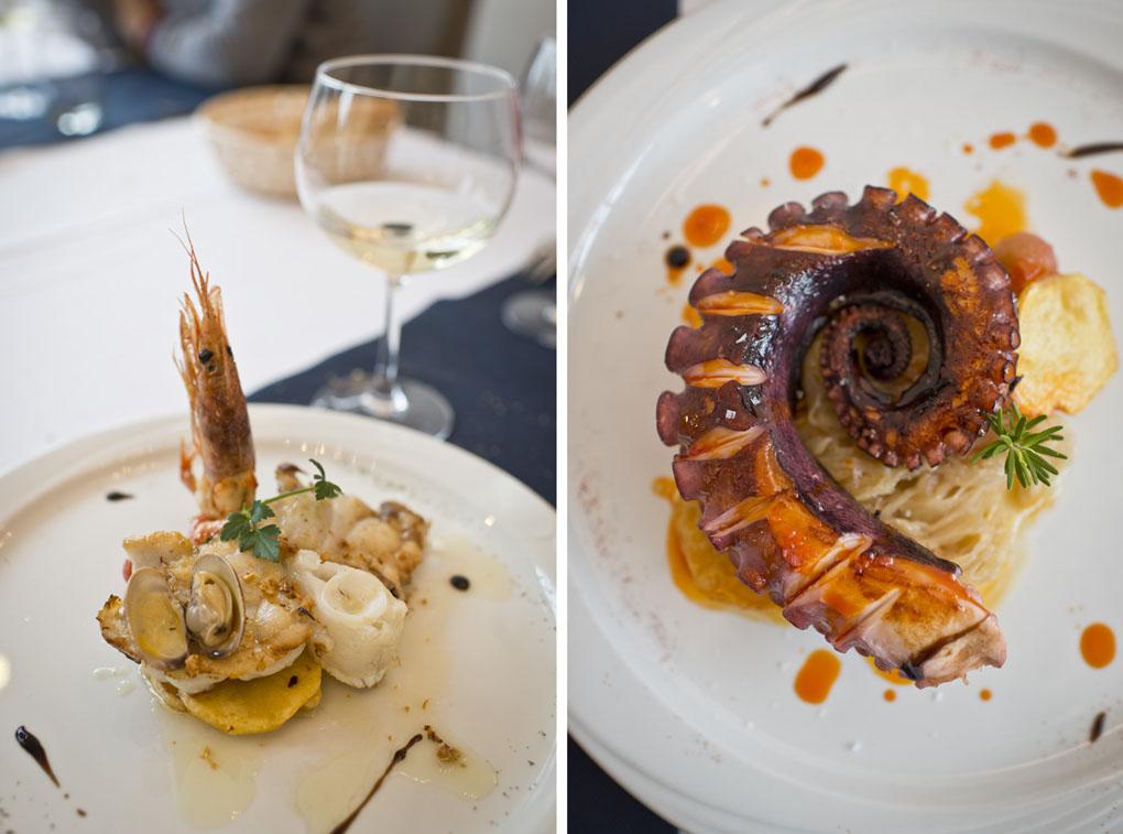 Restaurante de San Vicente de la Barquera: Sotavento - platos - Foto: Sofía Moro