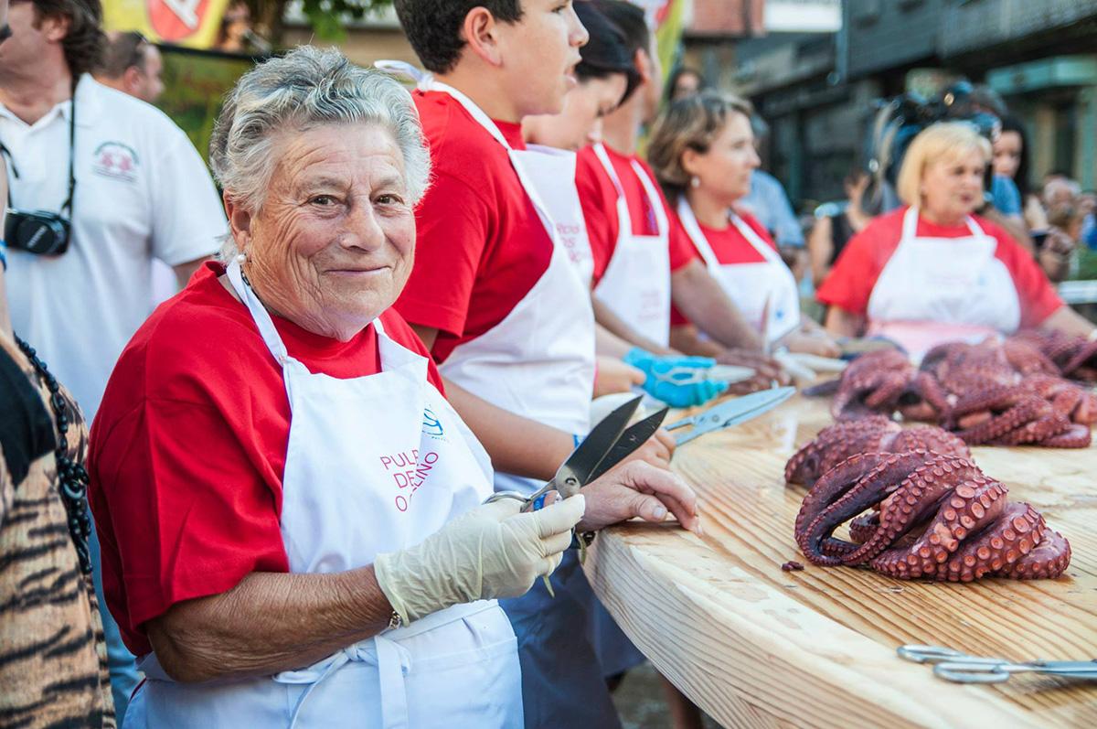 Ferias gastronómica, Galicias