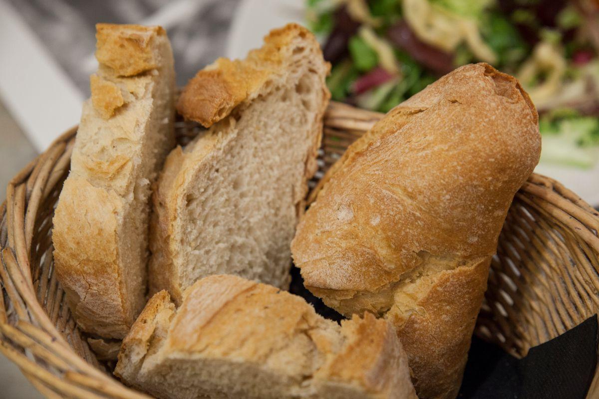 Pan artesanal del restaurante Morgan. Foto: Gari