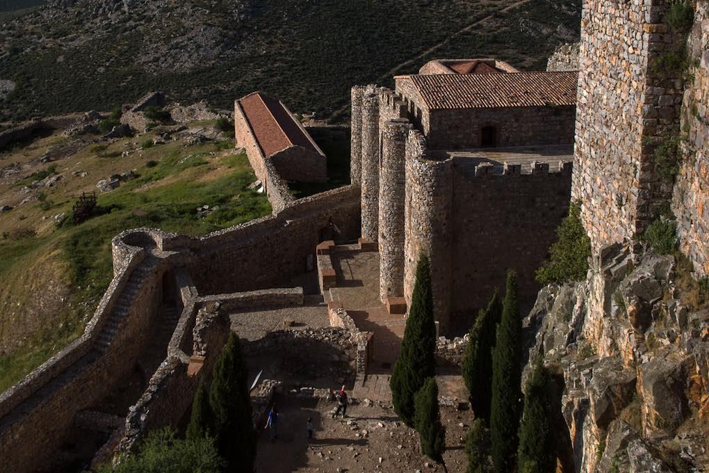 Vista de la fortificación desde sus murallas. Foto:Manuel Ruiz
