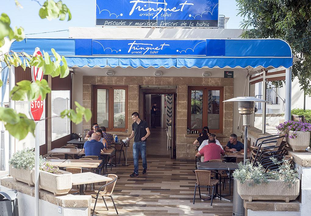 Restaurante Trinquete (Jávea) - terraza - Foto: Rafa Molina