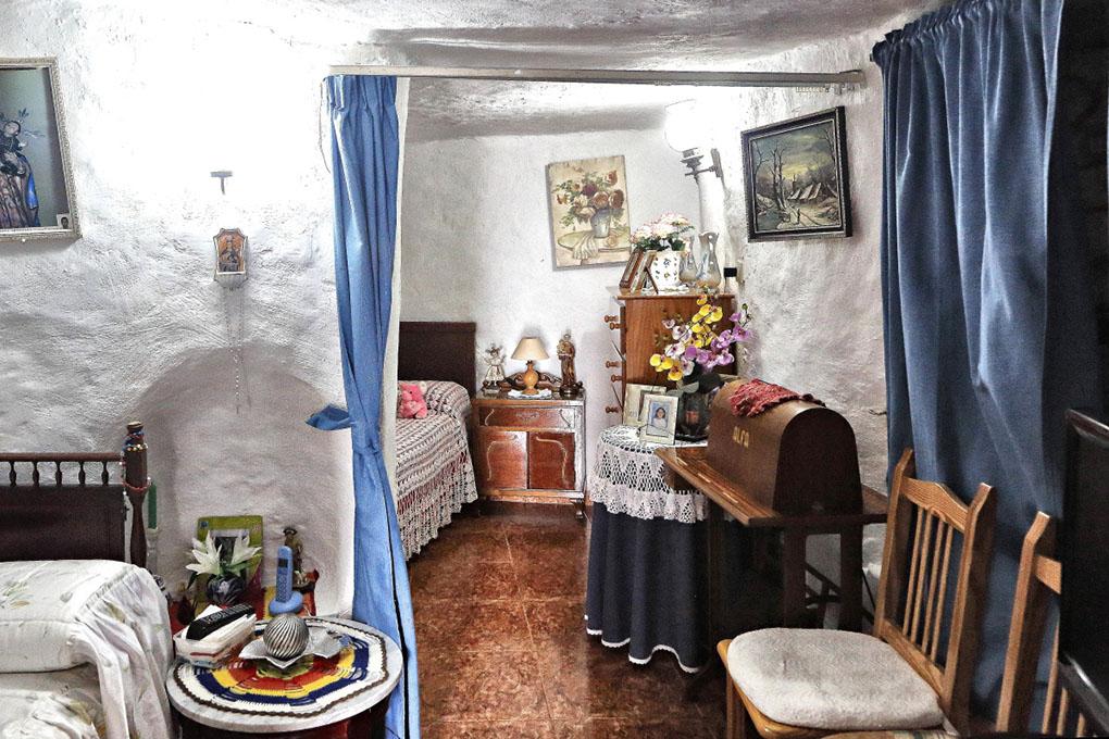 Artanara Casas Cuevas (habitación casa real). Foto: Roberto Ranero