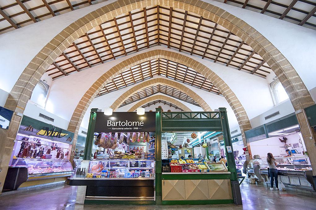 Mercado Municipal Javea - mercado interior - Foto: Rafa Molina
