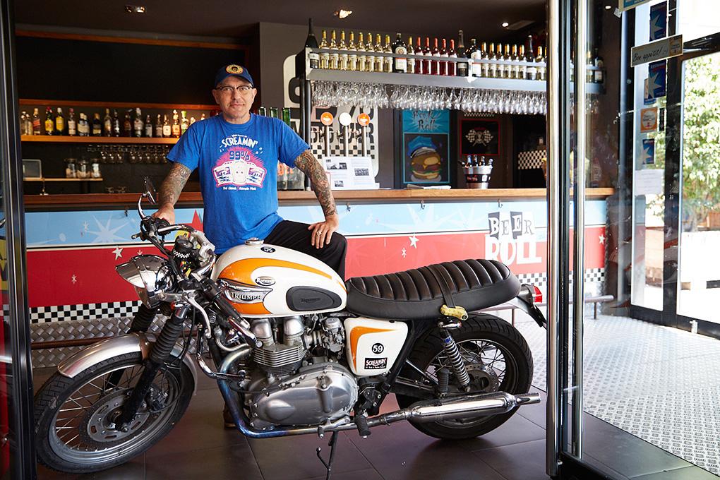 99% Moto Bar, Barcelona.