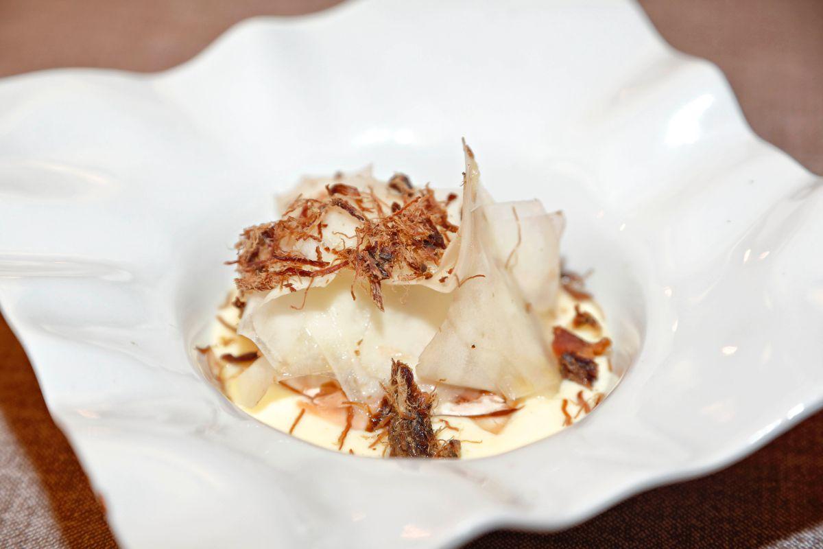 Un plato del restaurante Desencaja. Foto: Roberto Ranero