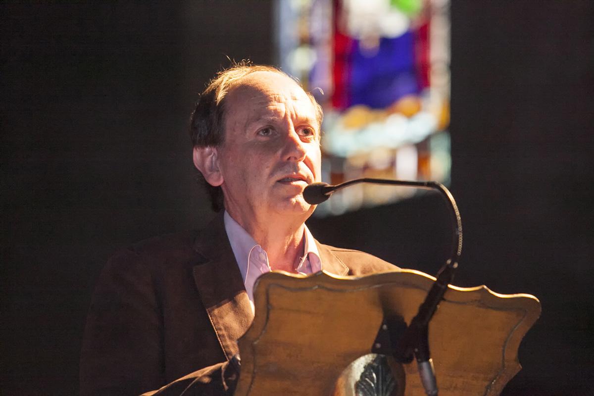 Enrique Campuzano, torrelaveguense y presidente de la Asociación de Órganos. Foto: