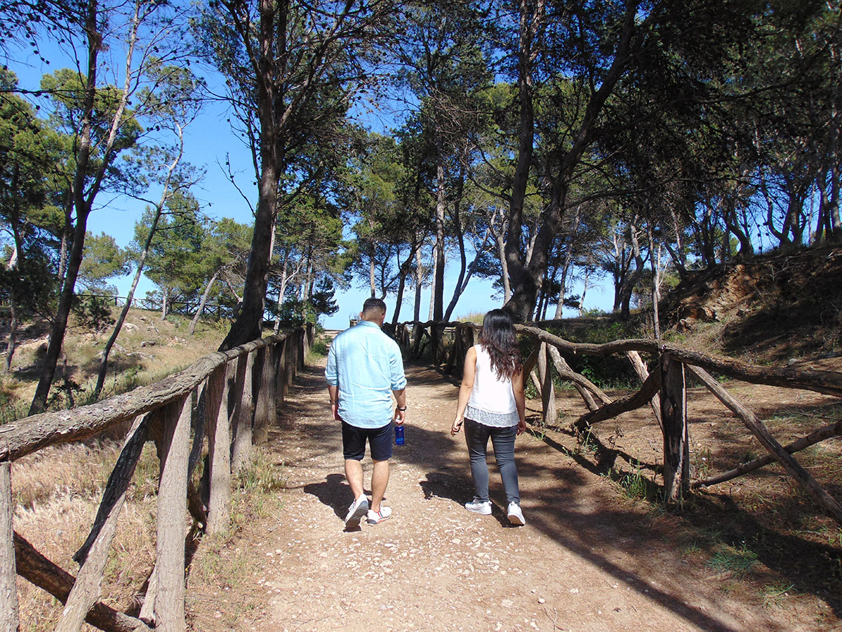 Camino de Ronda (Costa Brava): camino senderista por L'Escala. Foto: Anna Otero