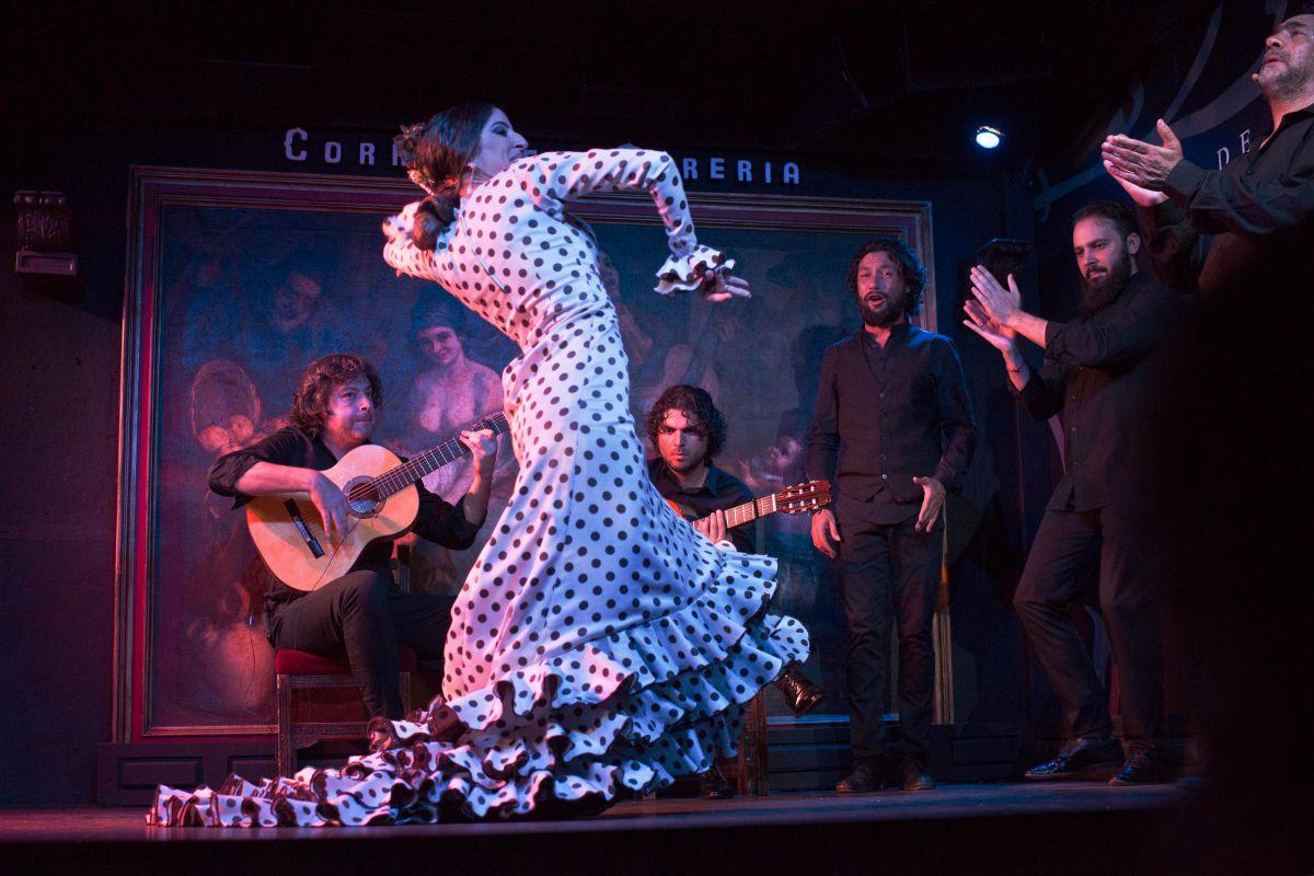 El baile es uno de los pliares de este espectáculo flamenco. Foto: Sofía Moro