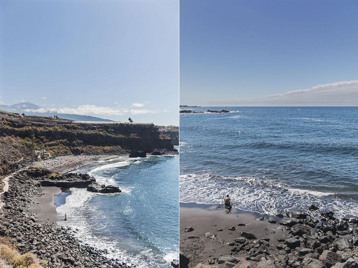 Playas de Tenerife: El Bollullo (2) Foto: Yanira Quintero