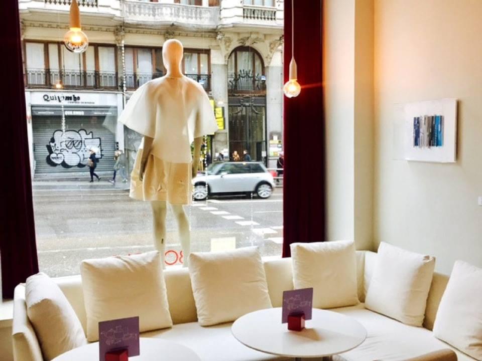 Exposición de moda en el Iberostar Las Letras