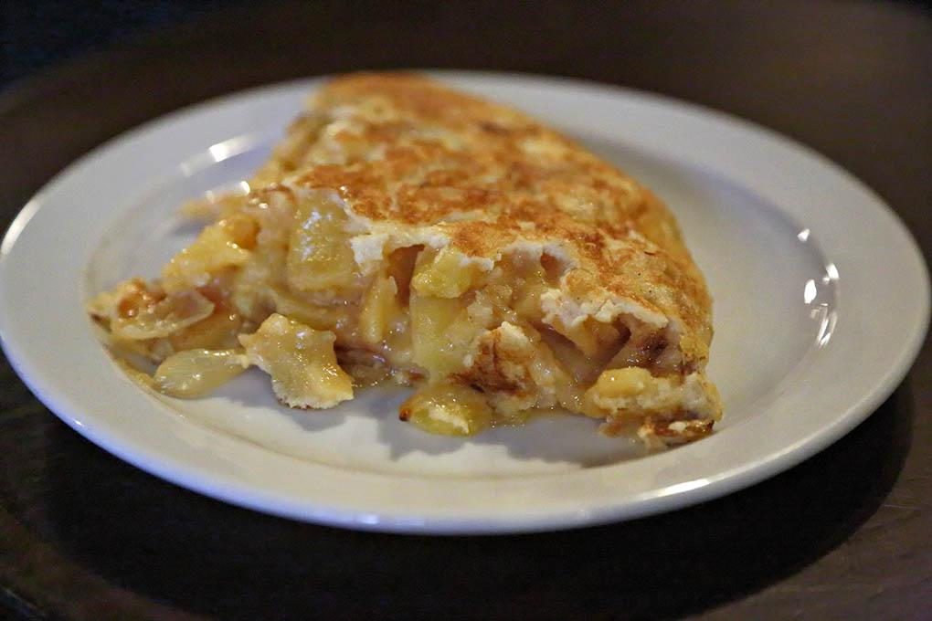 Pincho de tortilla de 'La Ardosa'