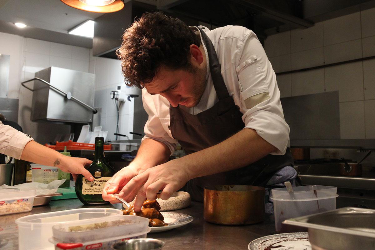 Restaurante Donosti - Rita (cocina). Foto: Bixigarri