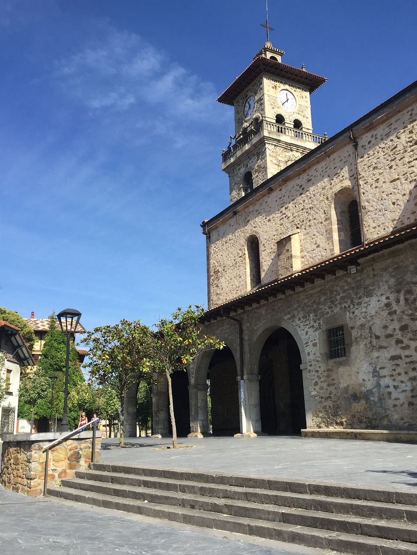 Torre de la iglesia Santa María, de Amurrio