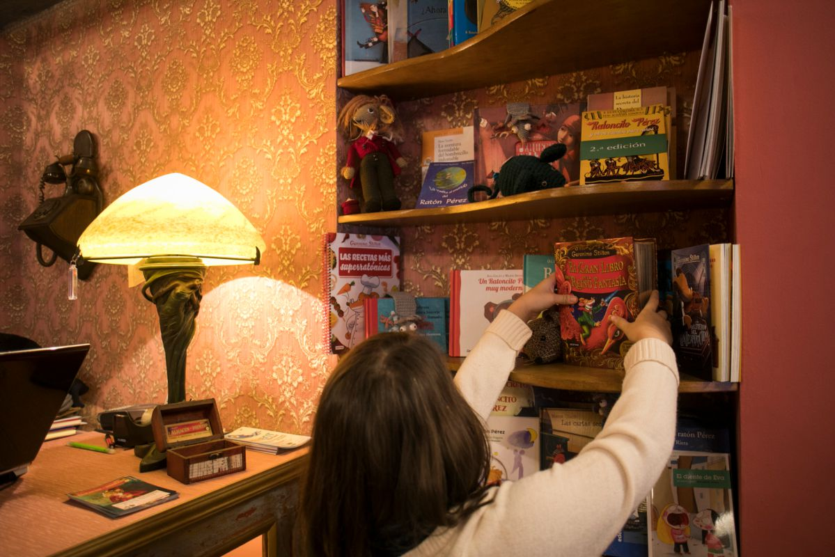 Libros en la Factoría de los Dientes. Foto: Eva Máñez