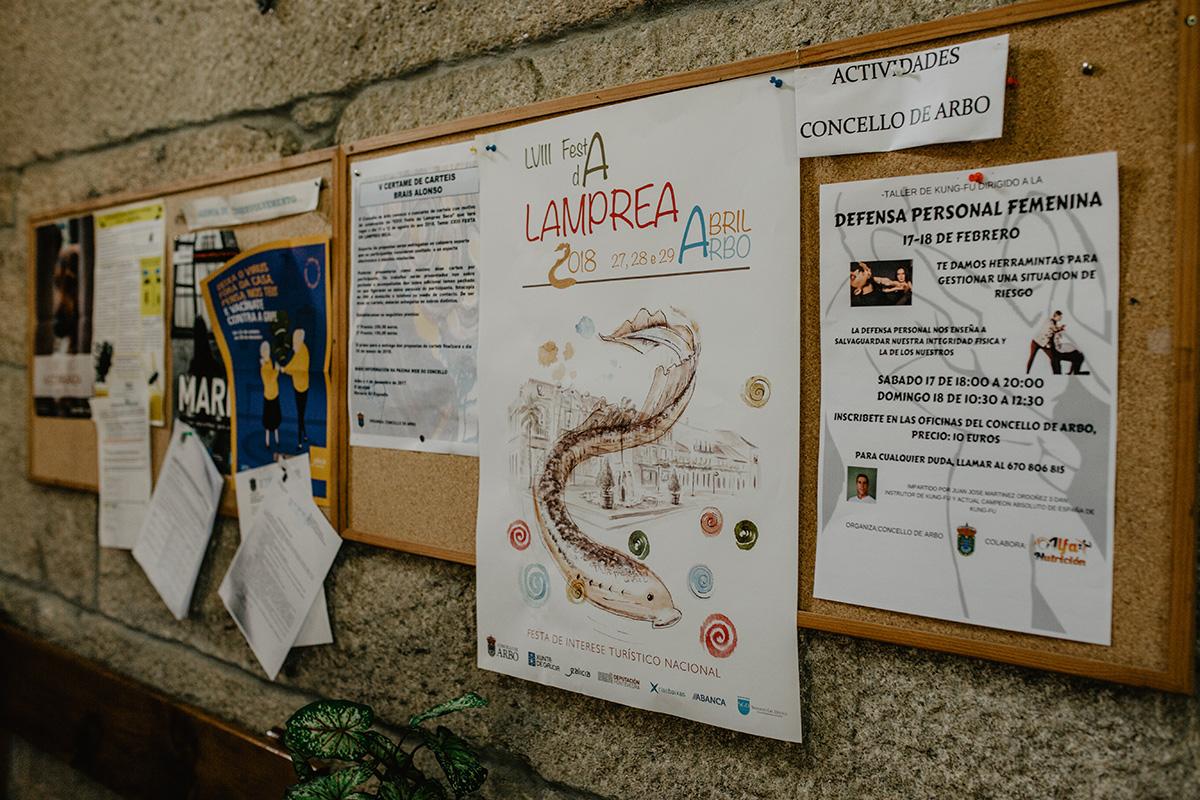Lamprea, Arbo, Pontevedra