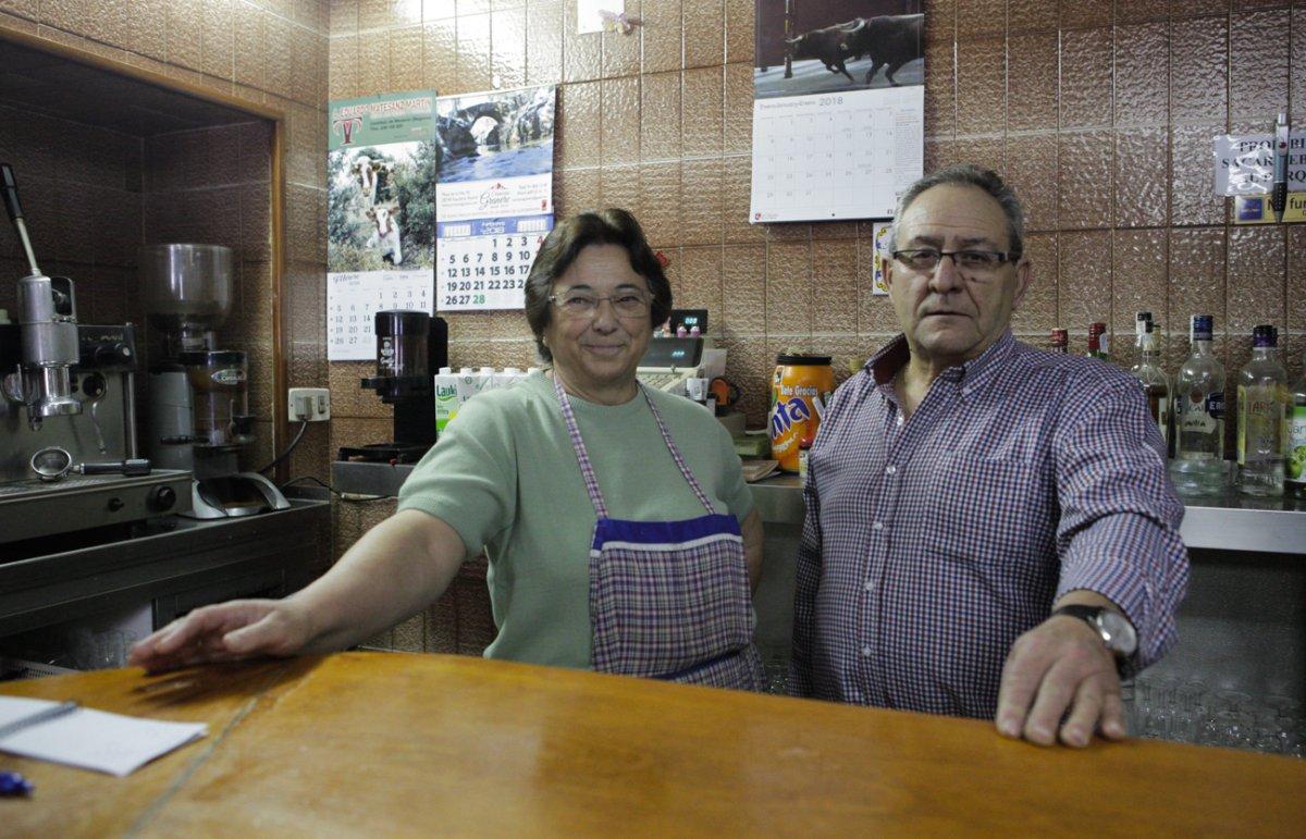 Restaurante Rascafría: Bar 'Picias' -Margarita y Julio-. Foto: Helena Poncini
