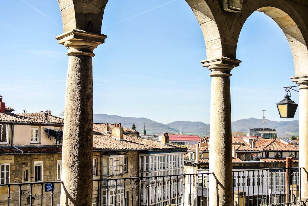 Vistas de la parte vieja de Vitoria. Foto: Shutterstock