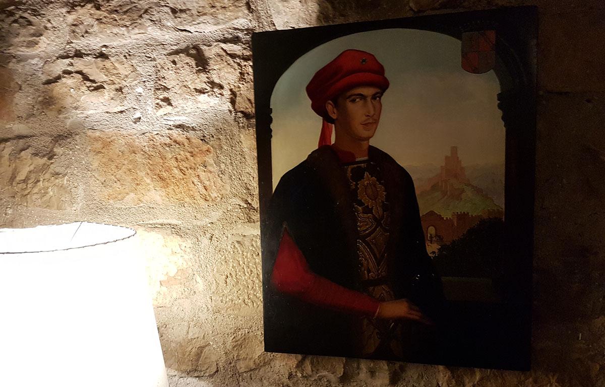 Retrato del condestable Iranzo. Foto: Eduardo Sánchez