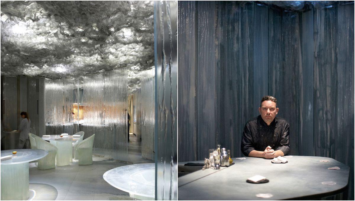 El nuevo restaurante 'Enigma' y Albert Adrià. Foto: Pepo Segura