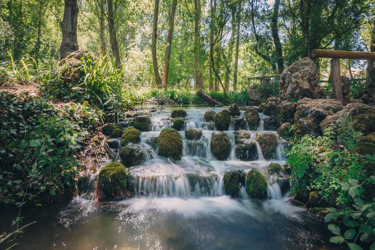 Saltos de agua del río Huéznar. Foto: Javier Sierra