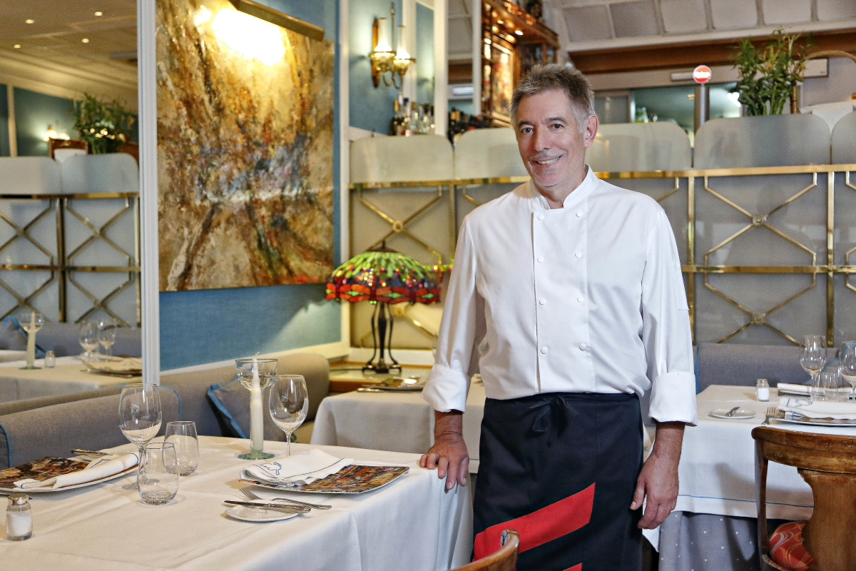 El chef de La Paloma, Segundo Alonso. Foto: Roberto Ranero