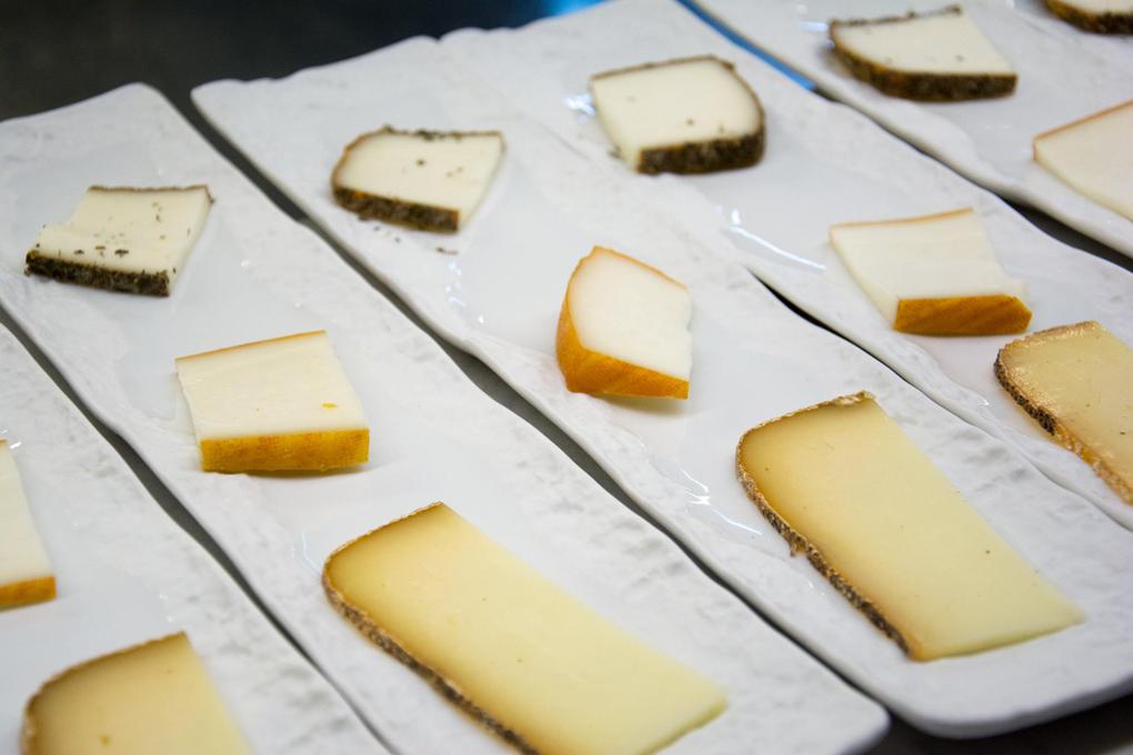 Tabla de quesos de la Viniteca