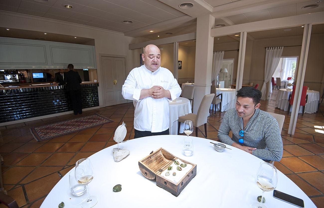 Restaurante La Galería-El Rodat (Nazario Cano) - caracoles -. Foto: Rafa Molina