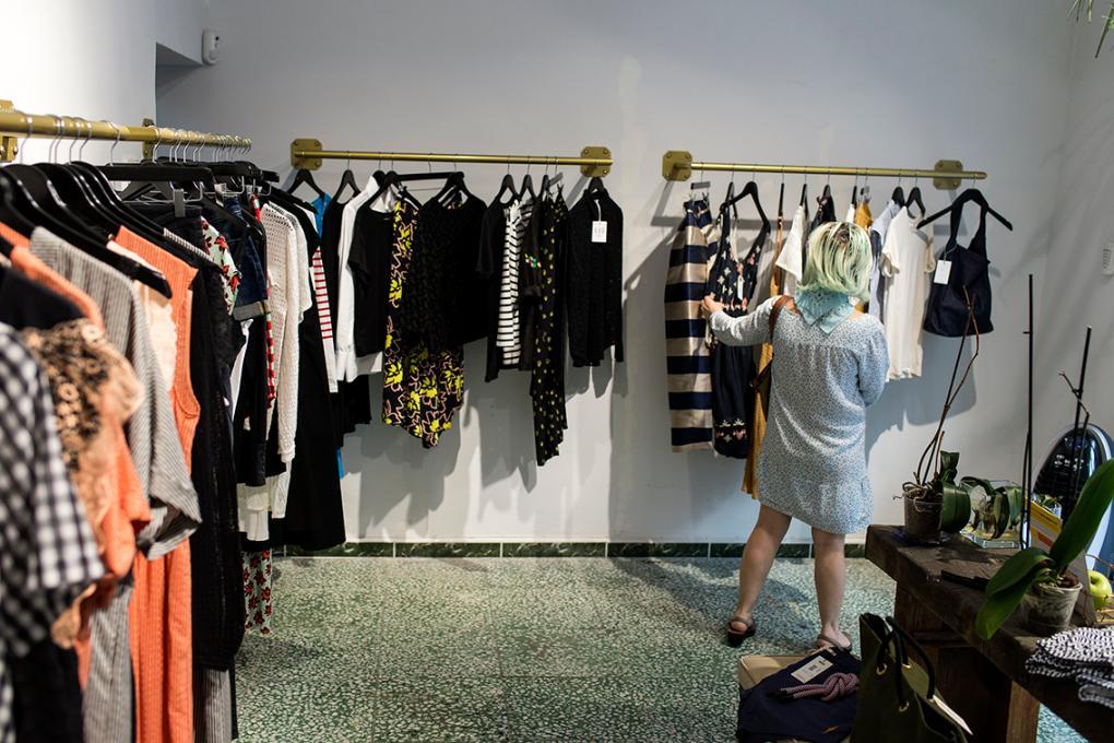 La estética y el diseño son dos de sus pilares. Sólo venden prendas bonitas.