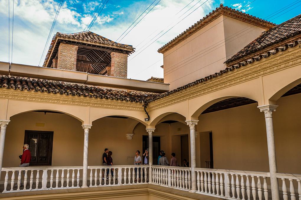 El Palacio de Buenavista que alberga el Museo Picasso. Foto: Área de Turismo del Ayuntamiento de Málaga