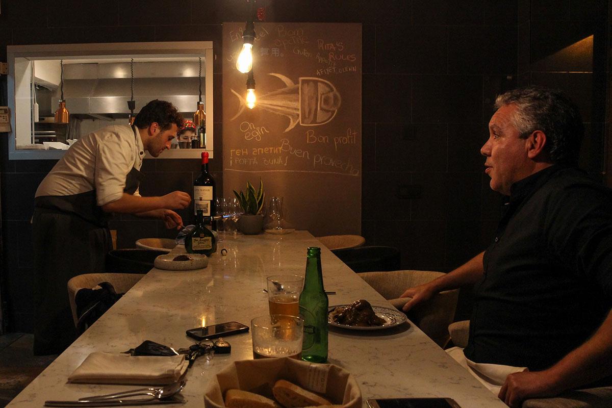 Restaurante Donosti - Rita (barra). Foto: Bixigarri