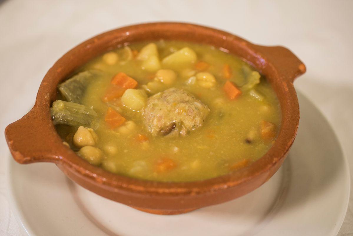 Un plato del restaurante La Carrasca. Foto: Eva Máñez