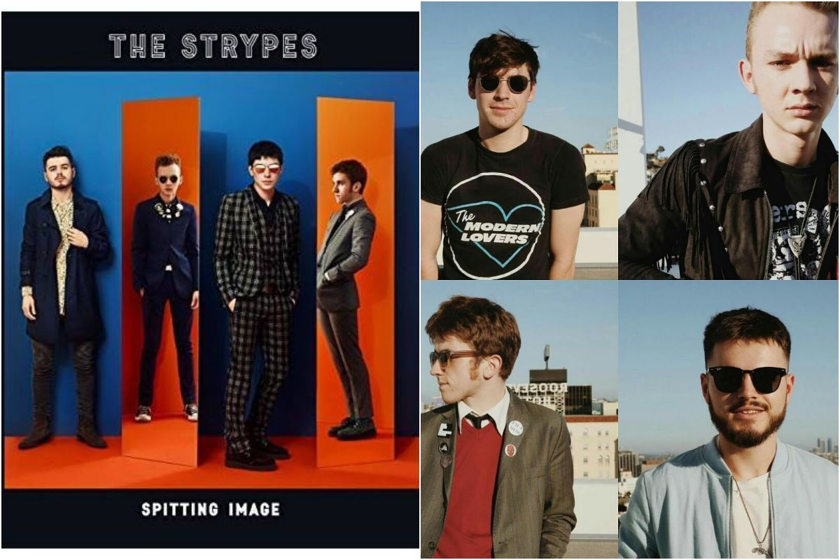 The Strypes, portada y grupo. Fotos: Facebook