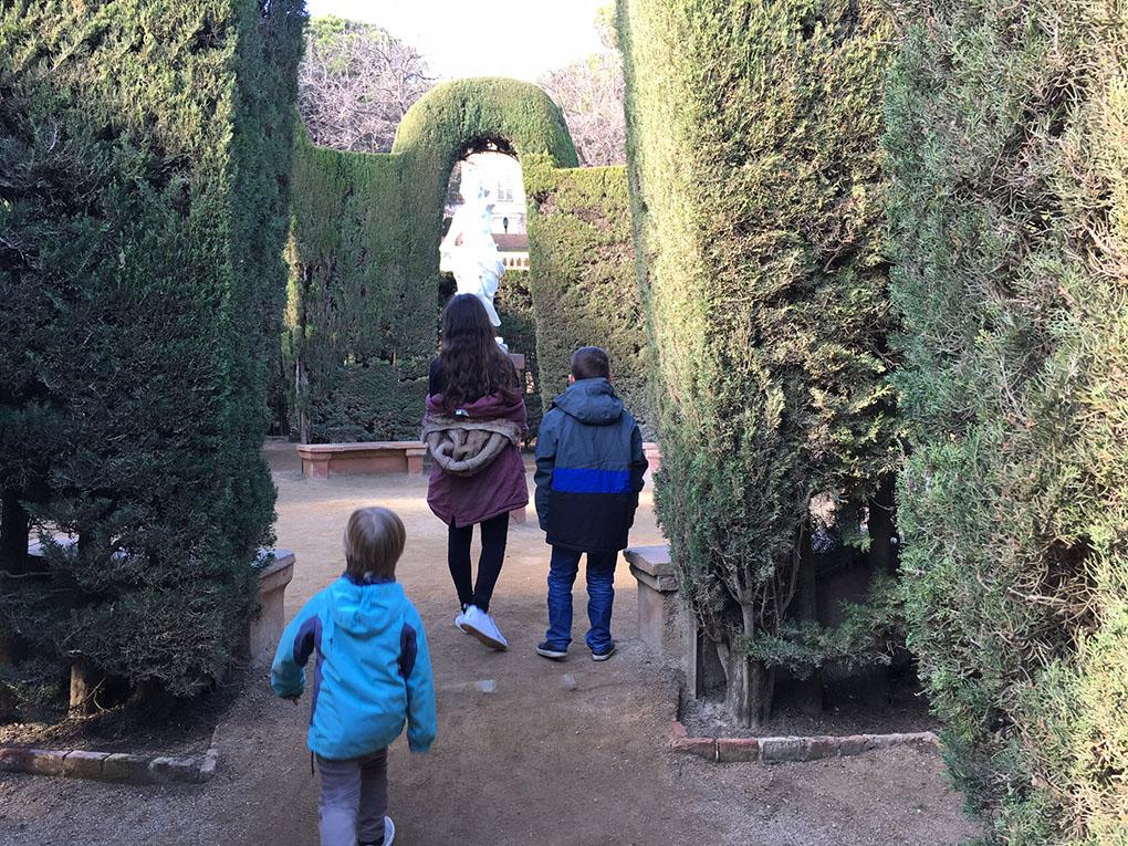 Parques curiosos de Barcelona: El Laberinto de Horta 1. Foto: Beatriz Vigil