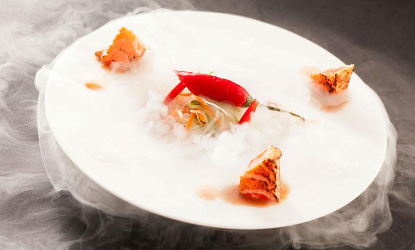 Dec logo de t cnicas culinarias de vanguardia en gu a repsol for Deconstruccion culinaria