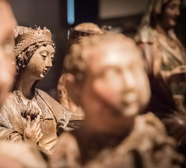 Exposición en el Museo Arqueológico de Madrid