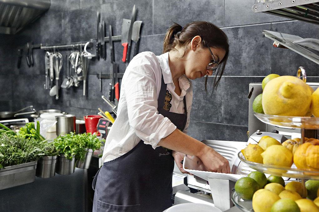Restaurante AIE (El Sauzal). Virginia Triano. Foto: Roberto Ranero