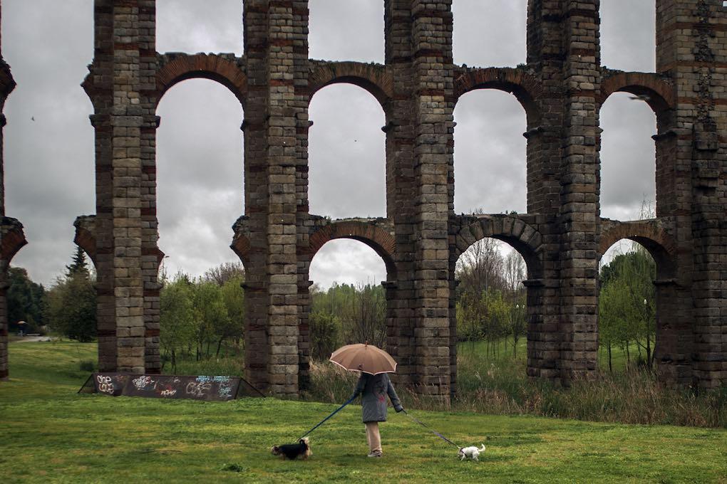 Acueducto de los Milagros de Mérida. Foto: Manuel Ruiz Toribio