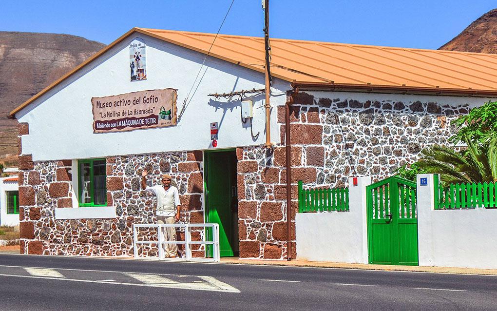 Molinas de gofio: Museo del Gofio. Foto: Facebook
