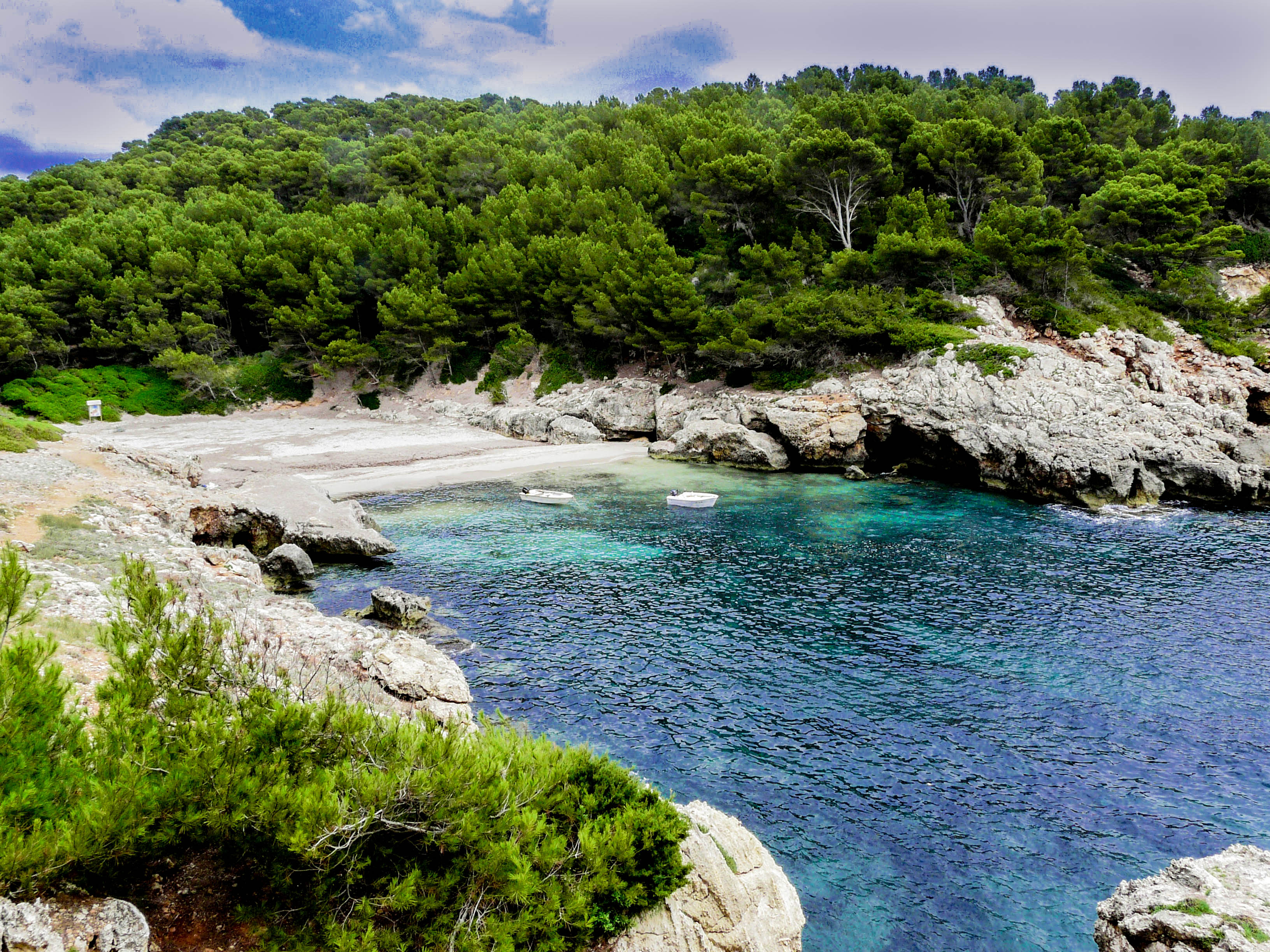 Cala Fustam (Menorca)
