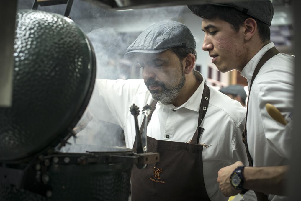 Jesús Sánchez, chef de El cenador de Amós