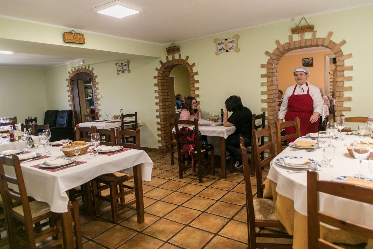 Restaurante La Carrasca. Foto: Eva Máñez