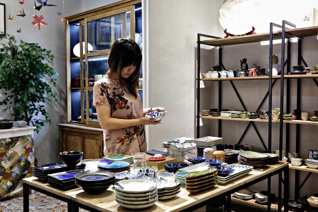 La tienda Aneko, en Jorge Juan