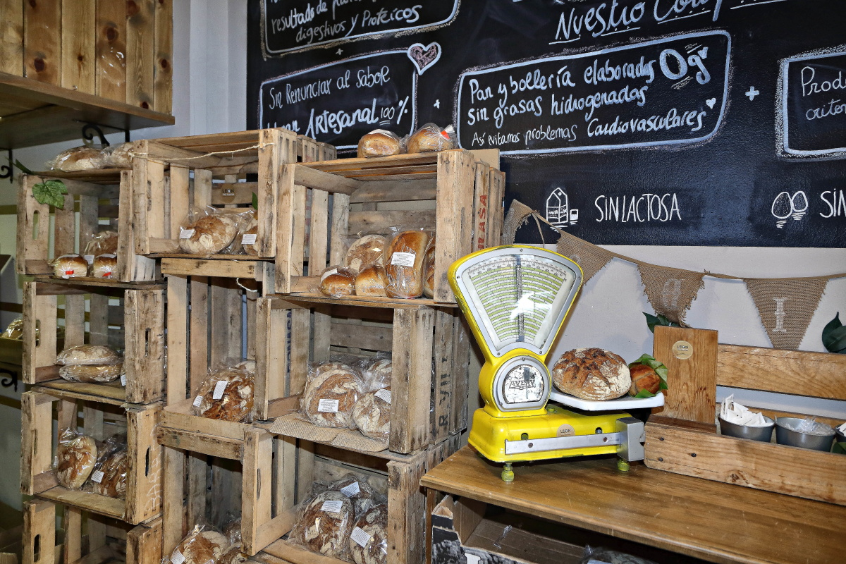Panaderías para celíacos, Madrid